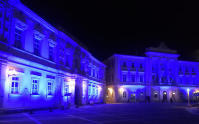Slovenija se je 2. aprila odela v modro barvo