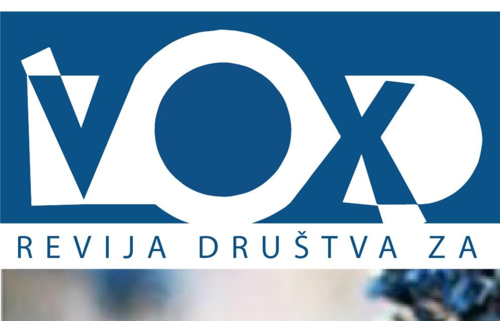 Nova številke revije VOX ALIA