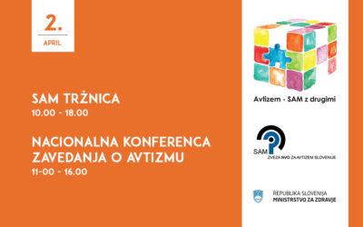SAM tržnica in Nacionalna konferenca zavedanja o avtizmu