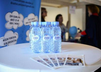 Zahvaljujemo se Pivovarni Laško Union d.o.o. za donirano vodo za oba dogodka.